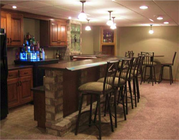 Custom Bars Distinctive Cabinets