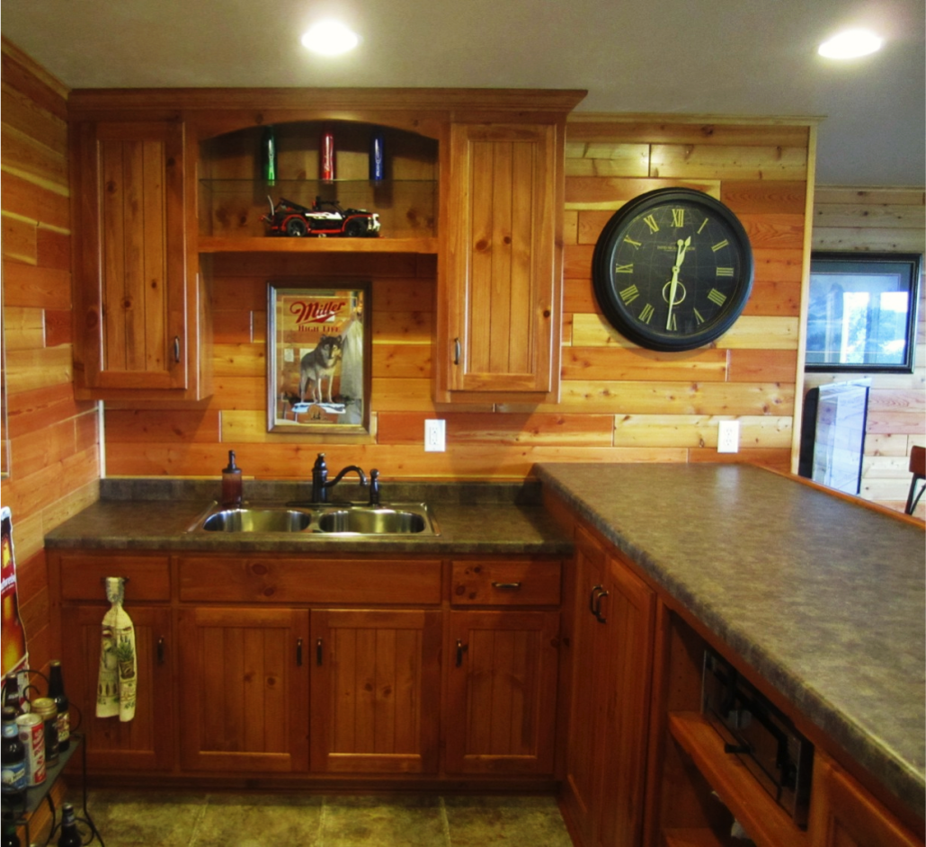 Custom Bars Distinctive Cabinets Of Green Bay