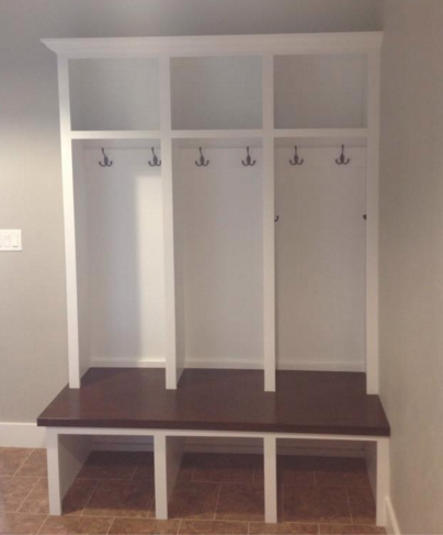 Custom Lockers Distinctive Cabinets Of Green Bay